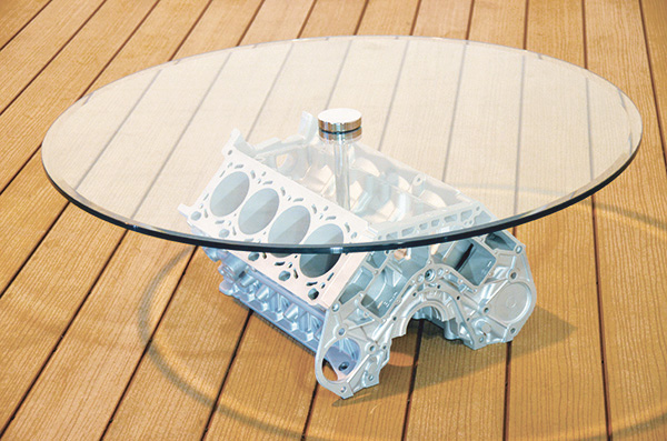 BMW v8 Engine Block Table